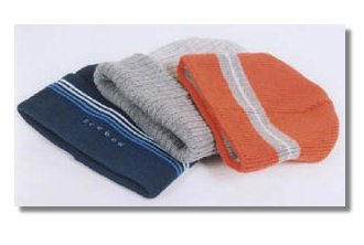 Promotional knitted hats custom made to your requirements.